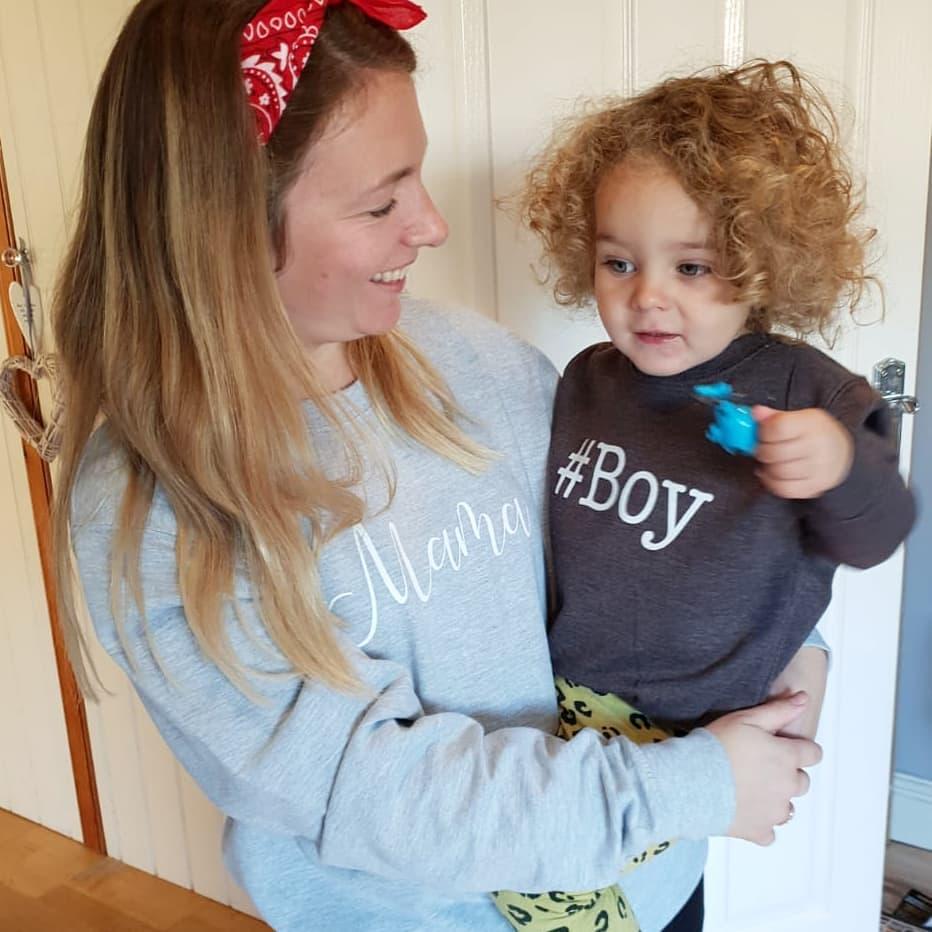 slogan sweatshirts for Mums