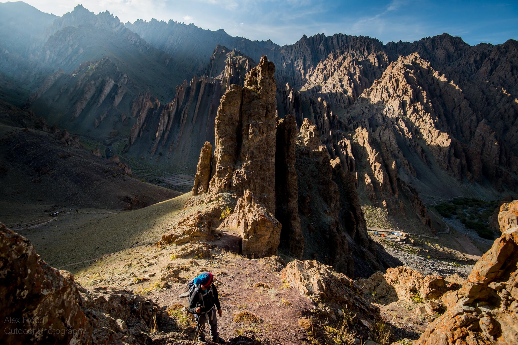 Chang Ma Overlook, India Himalayas