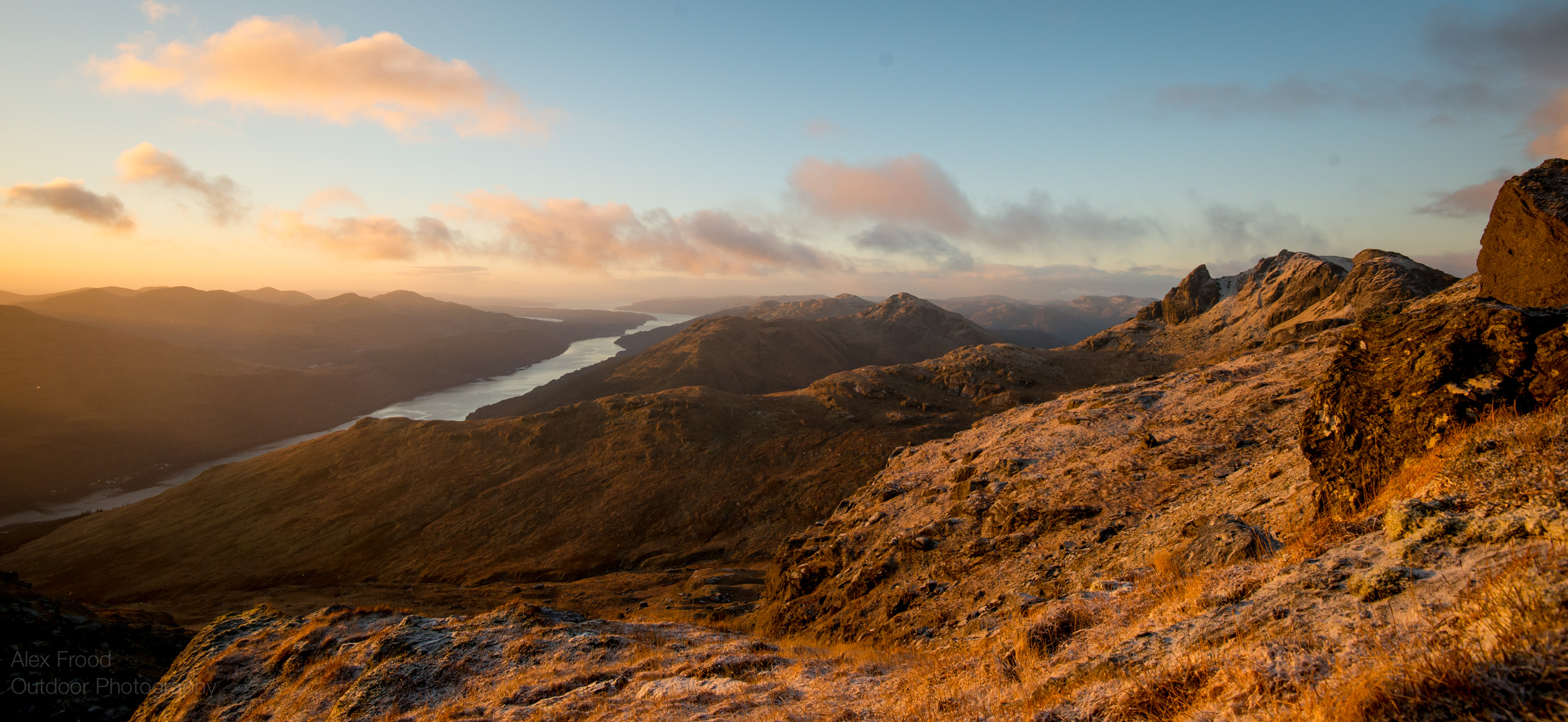 Sunrise The Cobbler & Loch Long