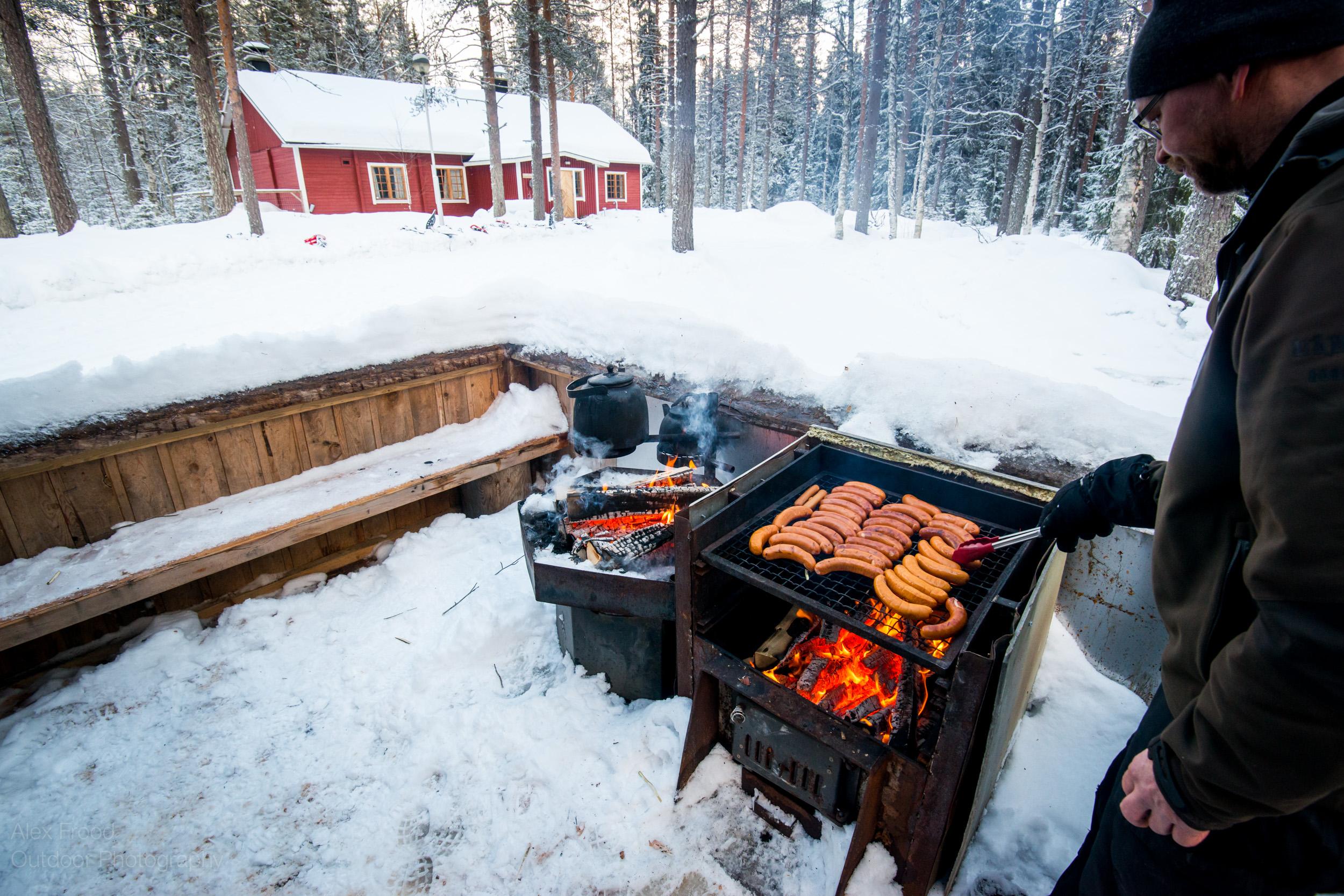 Winter BBQ, Finland