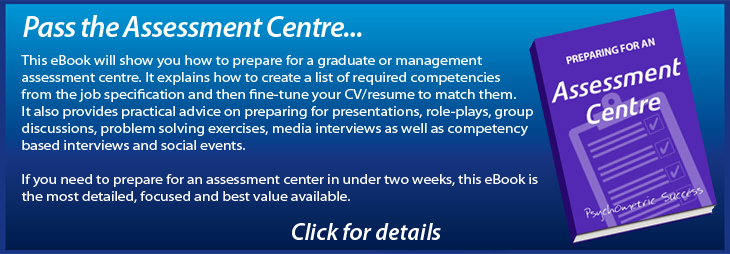 What is an Assessment Centre?