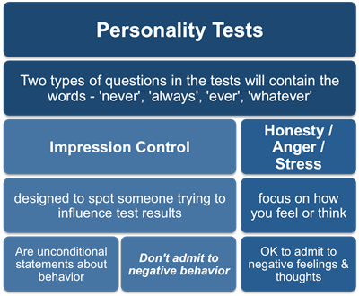 How To Pass A Job Personality Test