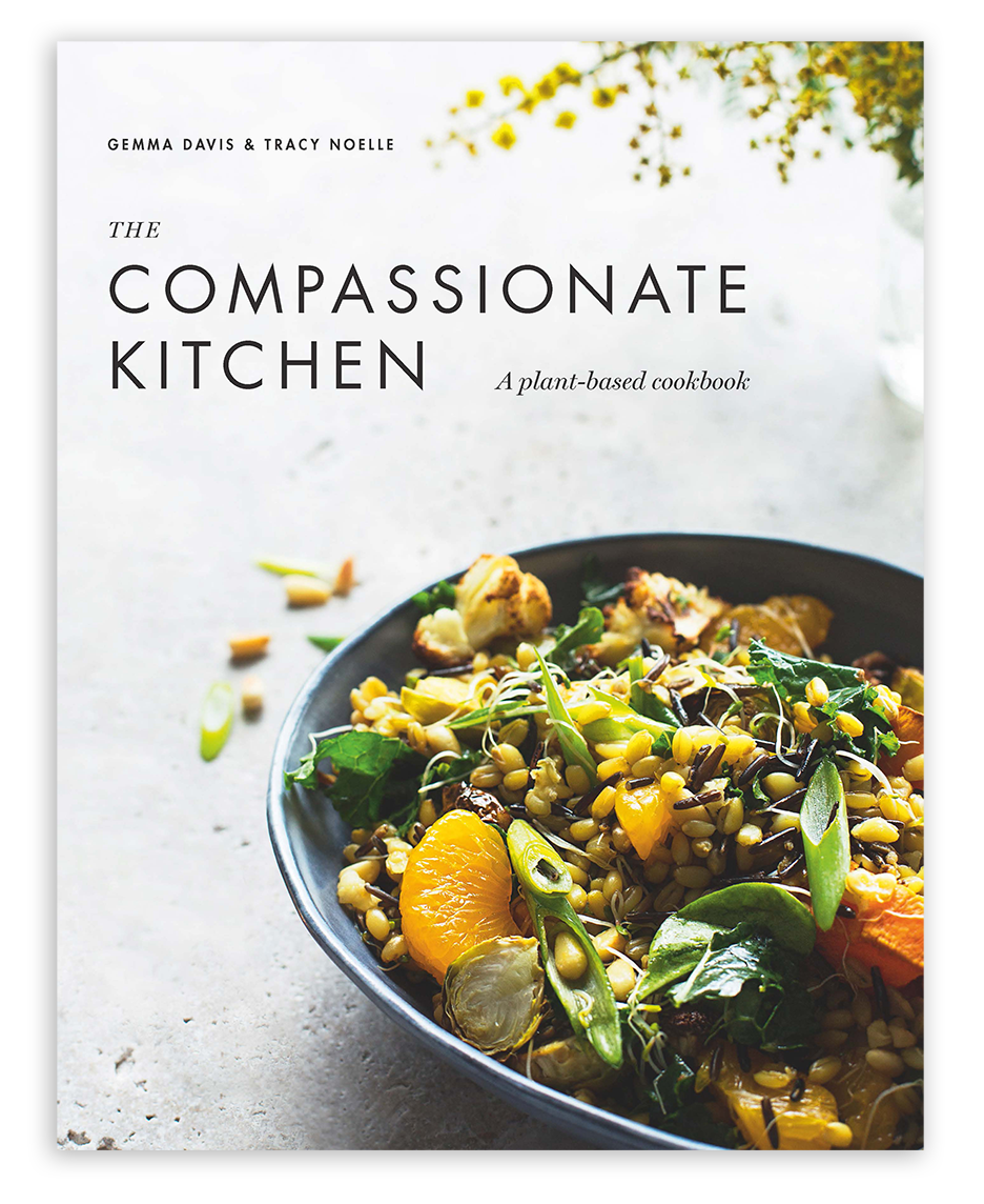 the compassionate kitchen - The Compassionate Kitchen is packed with over 70-delicious cruelty-free, plant- based recipes with an Asian twist inspired by Gemma and Tracy Noelle, chef to the stars and co- author, travels around the region.With Gemma's naturopathic influence, recipes are on the healthy side, but still have some cheeky twists with some sweet treats. Recipes are easy to make, some playing on old favourite dishes and some with new tastes and combinations.'What we eat, every day, three times a day, when combined by 7 + billion of us, adds up and has a real impact. Eating more plant-based meals helps reduce the detrimental impact animal agriculture is having on our environment and the suffering of animals on factory farms. Plus these recipes taste great, are easy to make and are good for you!'Get your copy now!