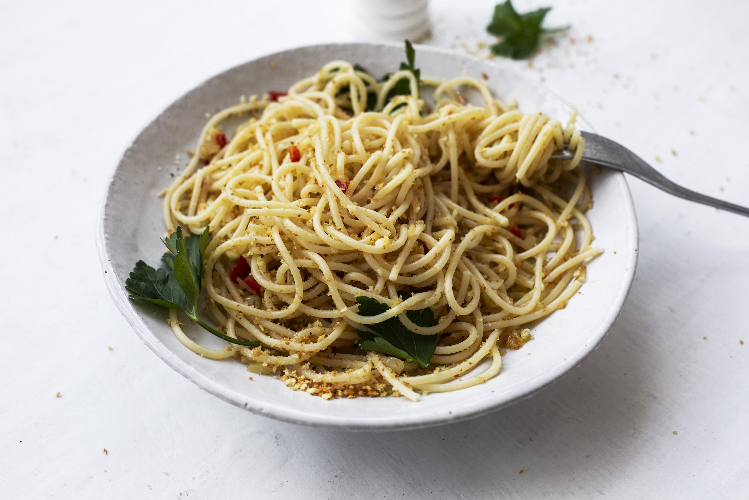 the compassionate road vegan pasta