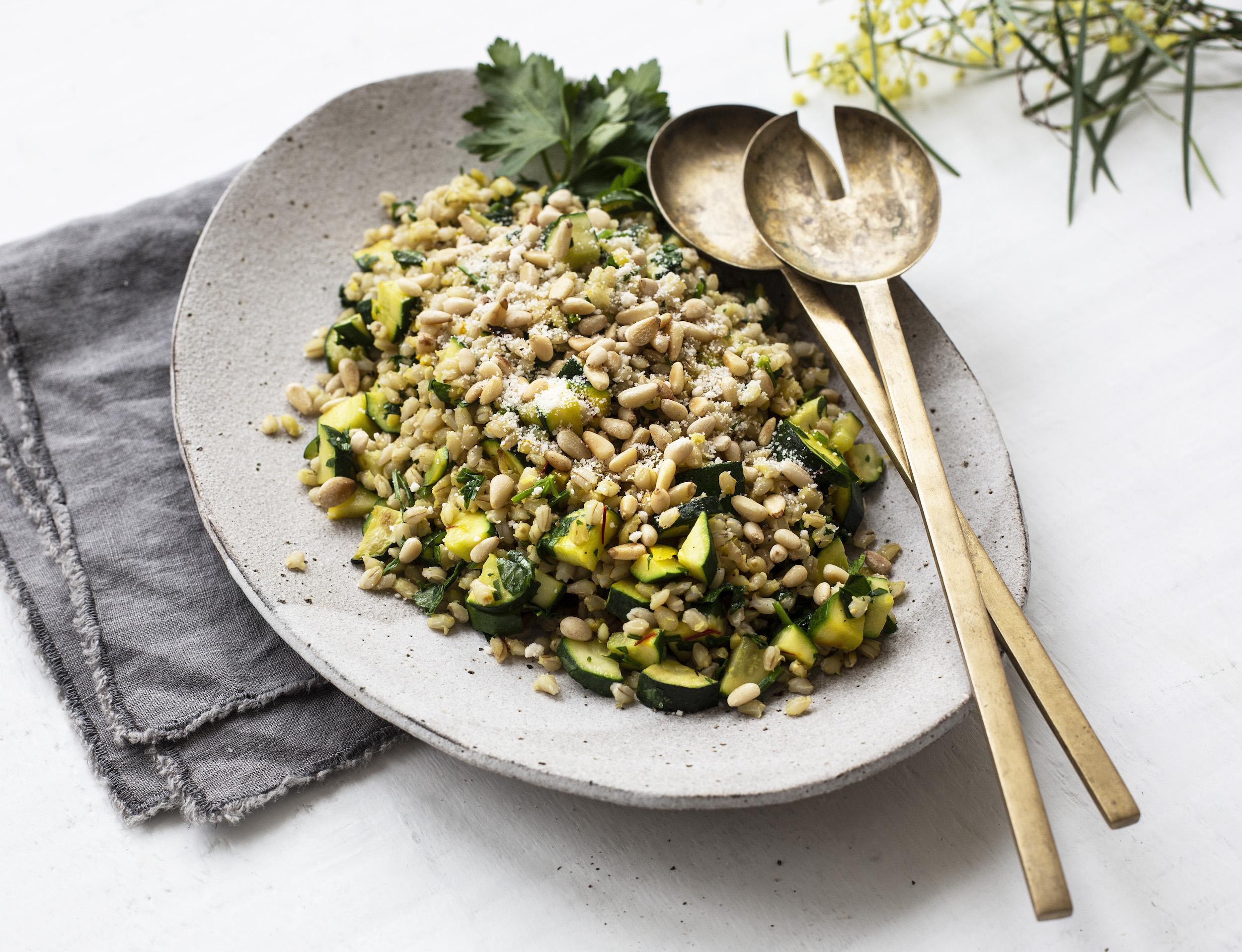 barley salad the compassionate kitchen