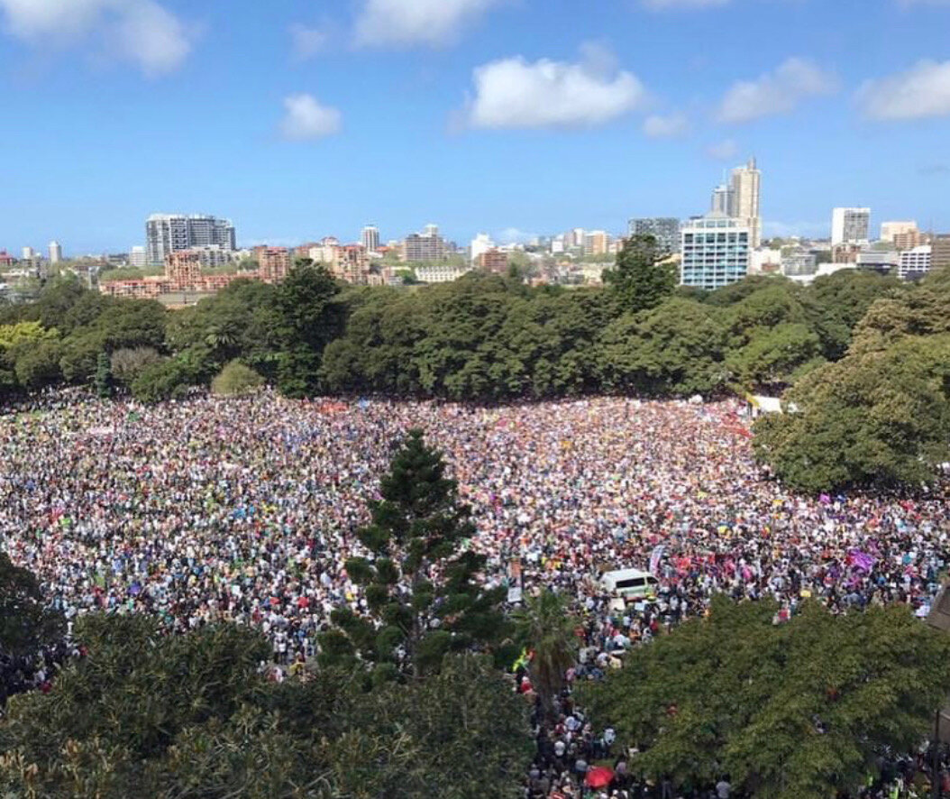 Sydney climate march