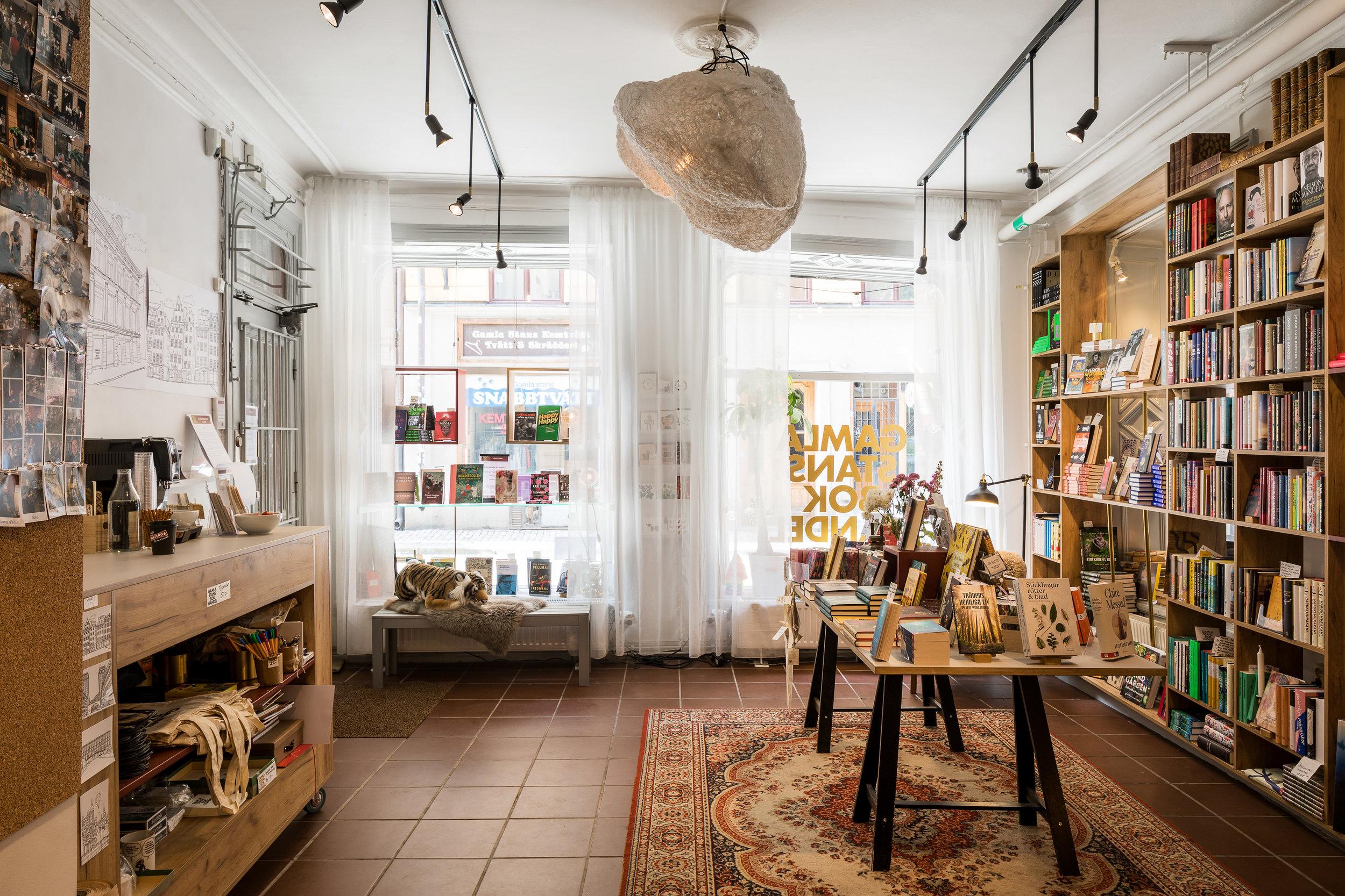 Gamla stans bokhandel / 2016