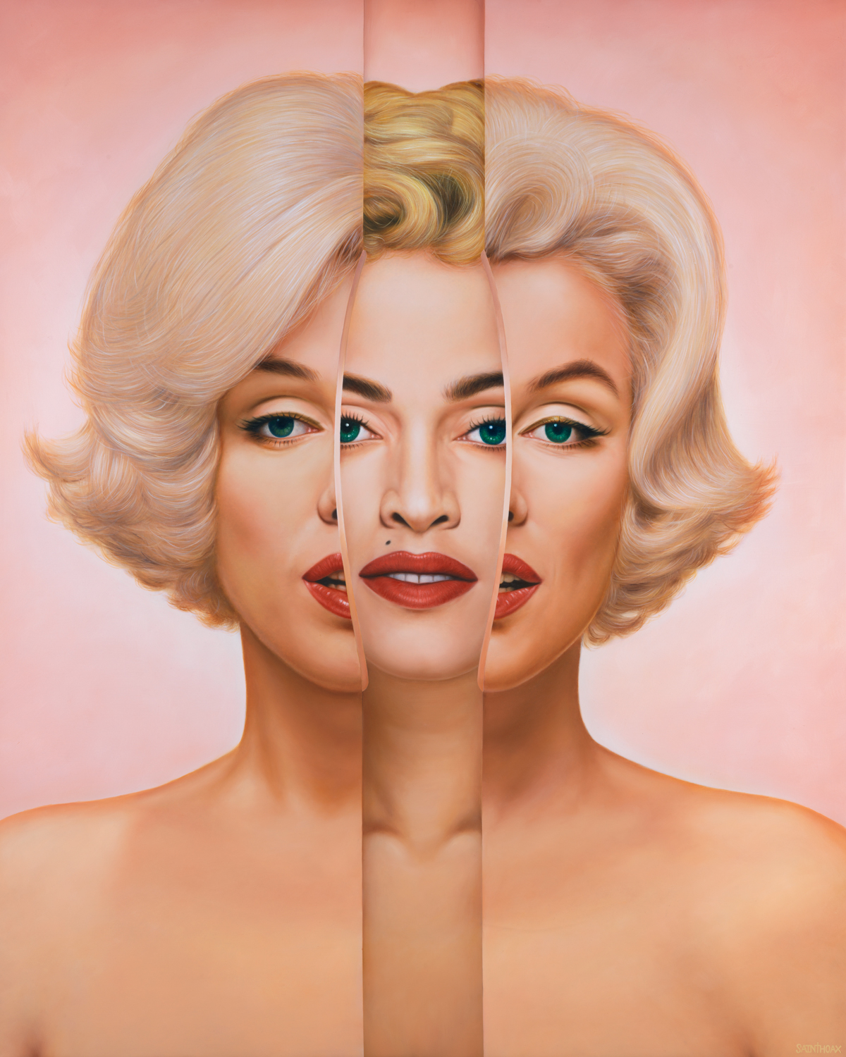 BLOND AMBITION - 2018Oil on canvas120 x 150 cm ( 47.2 x 59 in)$42,000