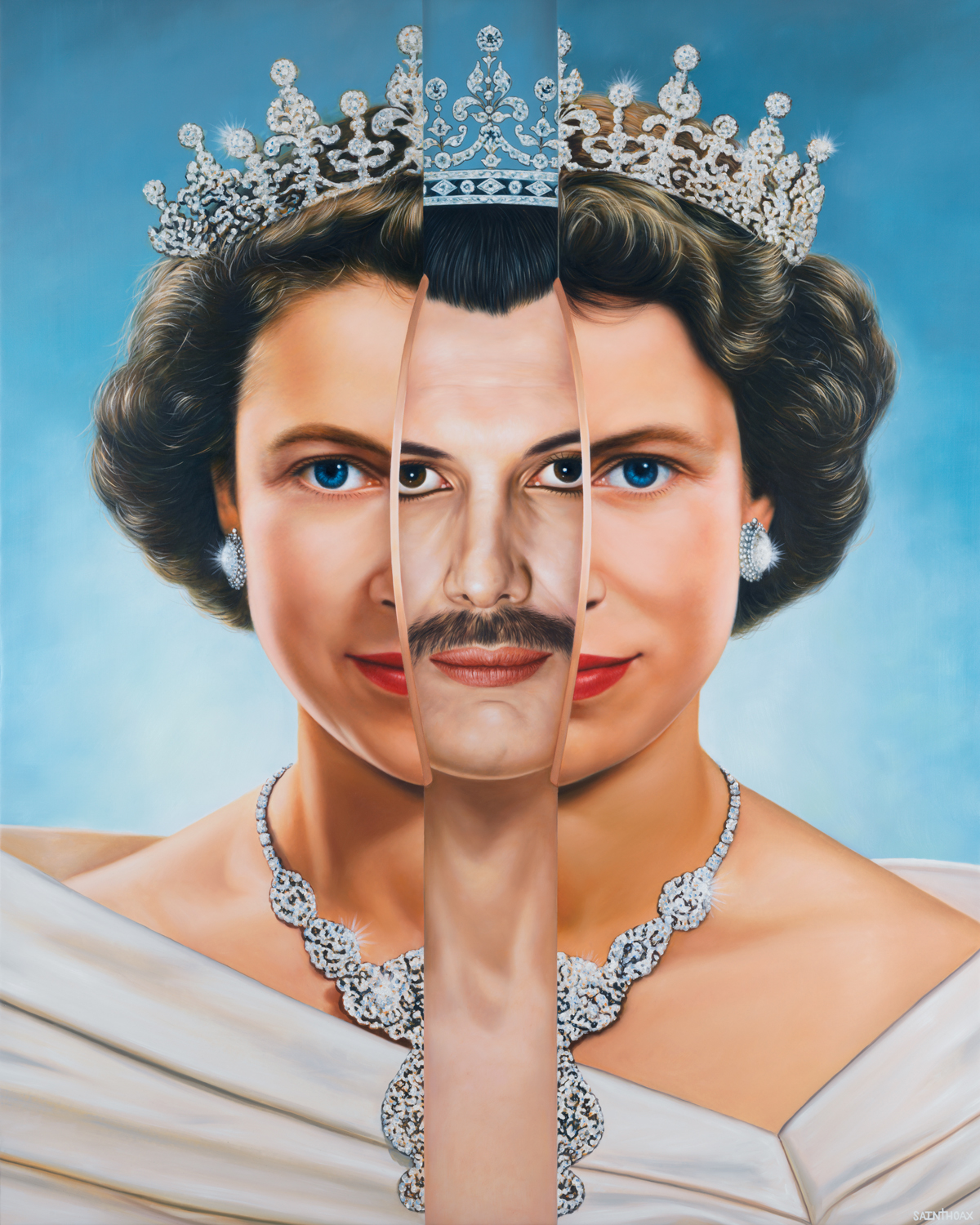 GOD SAVE THE QUEENS - 2018Oil on canvas120 x 150 cm ( 47.2 x 59 in)$42,000