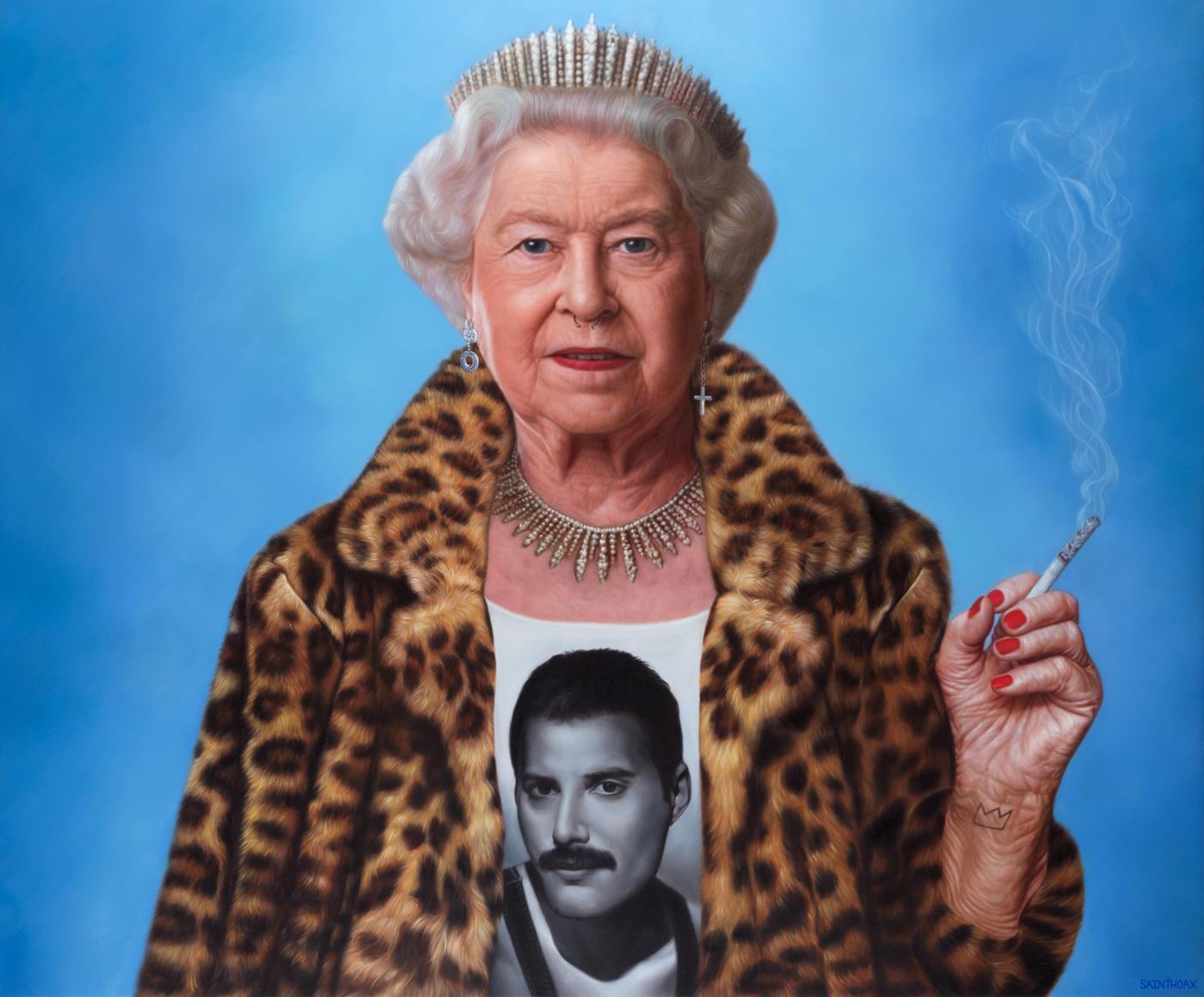 KILLER QUEEN - 2018Oil on canvas145 x 120 cm (57 x 47.2 in)$32,000