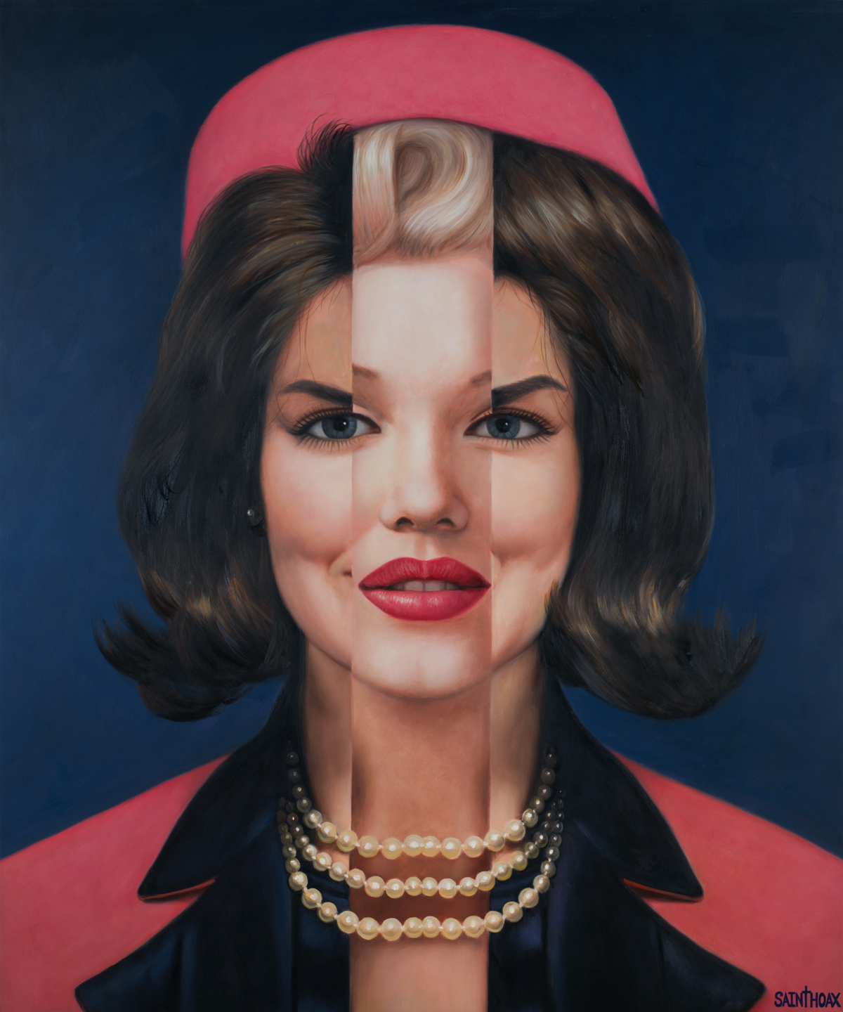 JACKIE MONROE - 2016Oil on canvas100 x 120 cm (39.3 x 47.2 in)$21,000