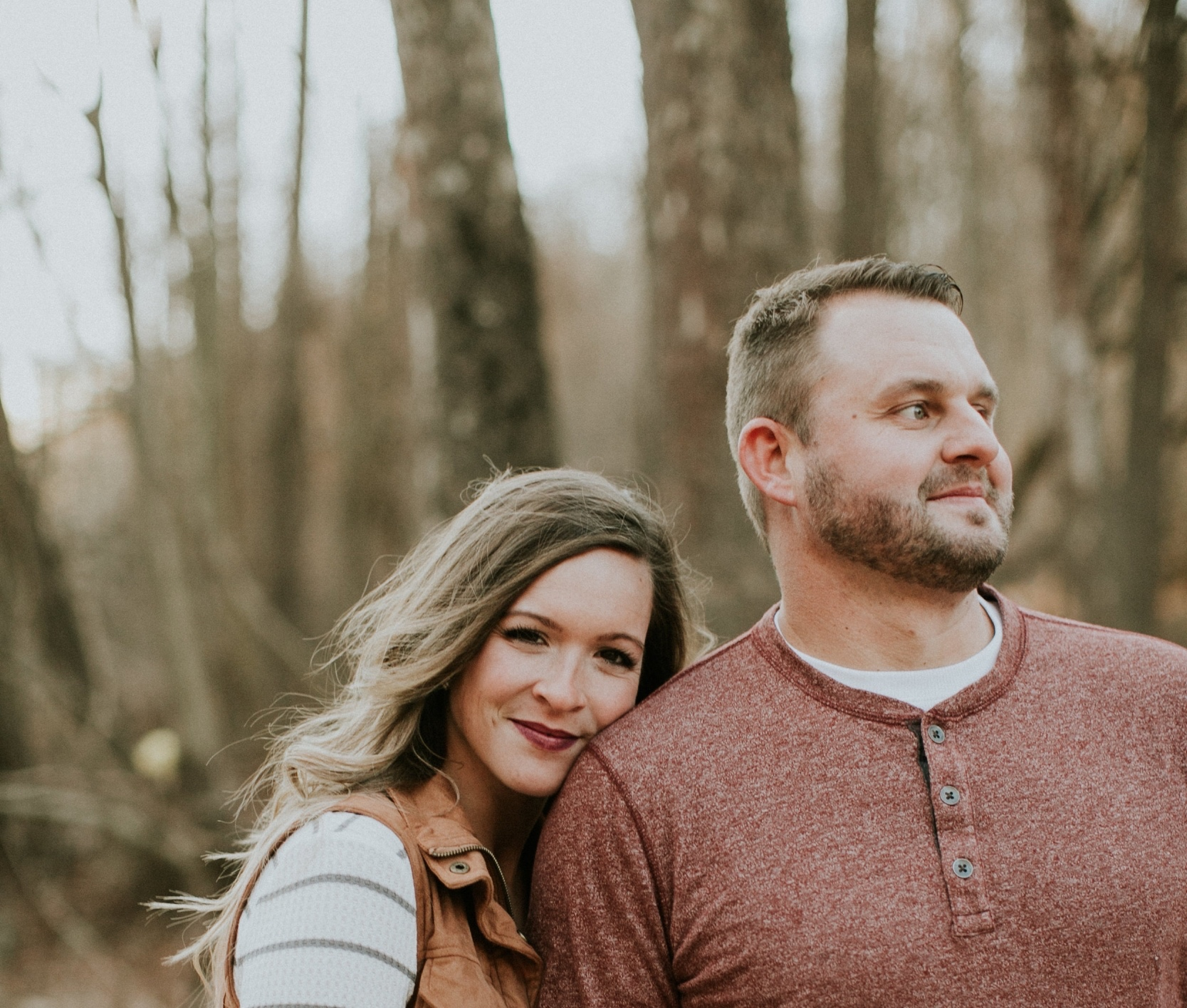 Me and my hubby. Photo by Sarah Brookhart Photography