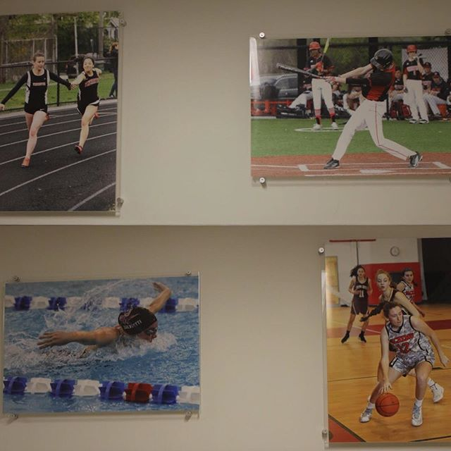 Have you checked out the athletic wing to see some of WHS's varsity athletes yet??? They are a new addition from Student Council and will be rotated periodically to ensure that every sport gets on the wall!!