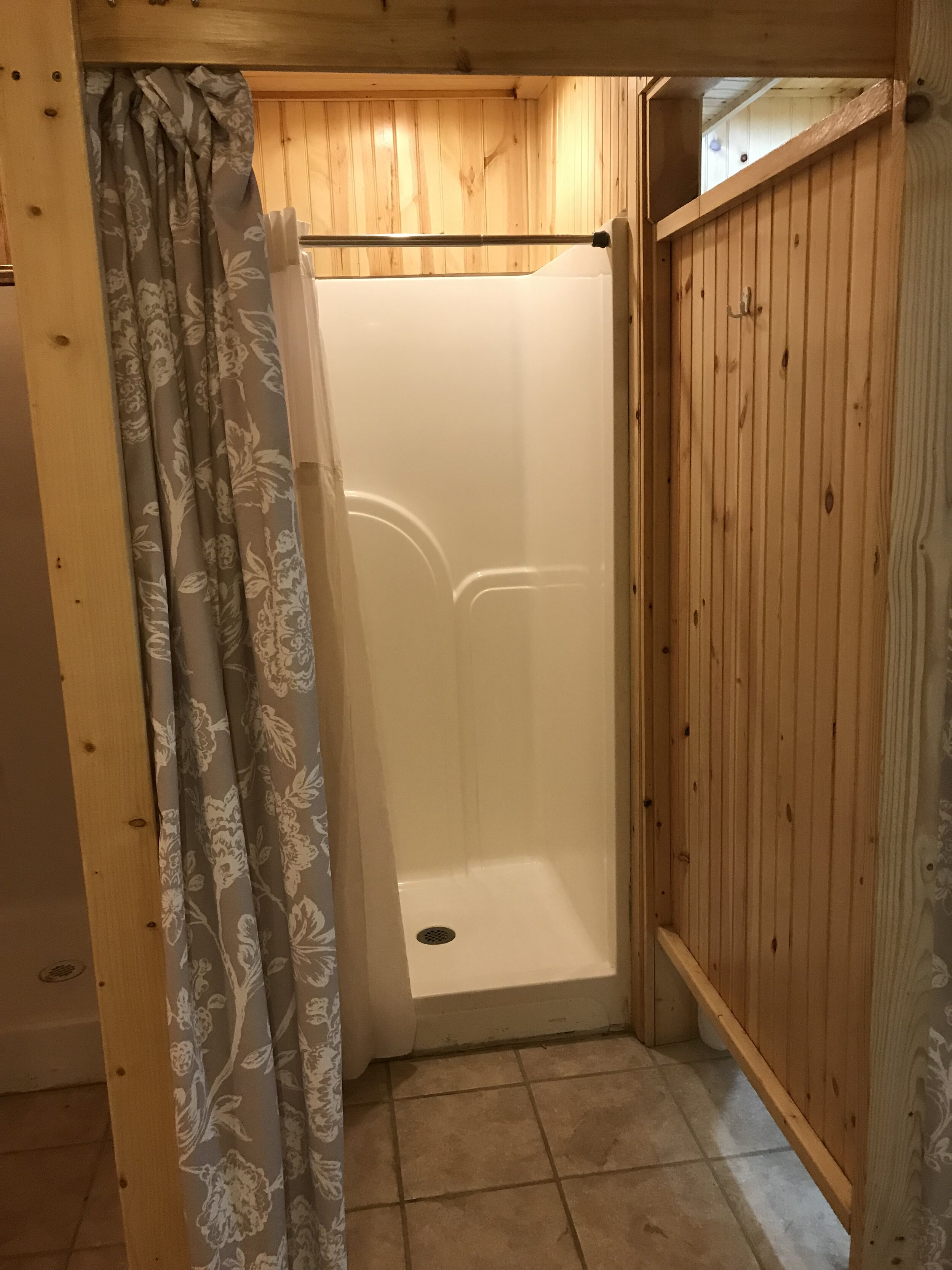 Woman's Showers