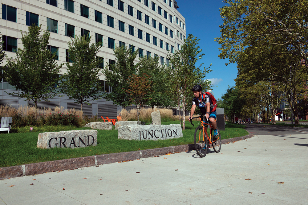 First Segment of the Grand Junction Multi-Use Path in Kendall Square