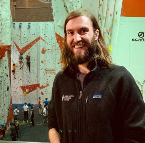 Nathan  - Climbing Instructor  Nathan is an experience climber who heads up the Junior Academy over at Manchester Climbing Centre. Nates mentors and develops young climbers, also attending climbing competitions to coach and support the climbers competing.