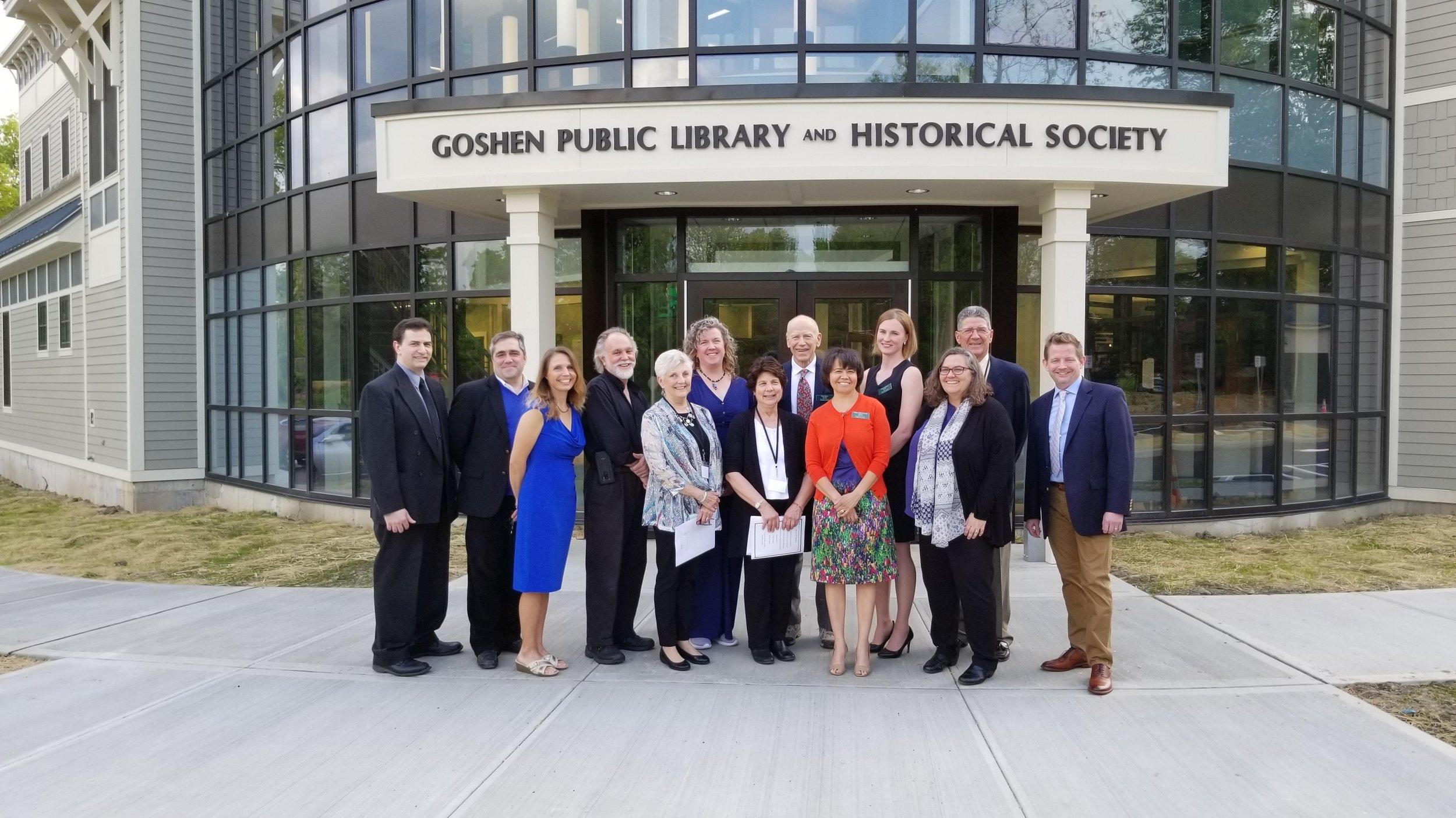 Goshen Public Library Opening