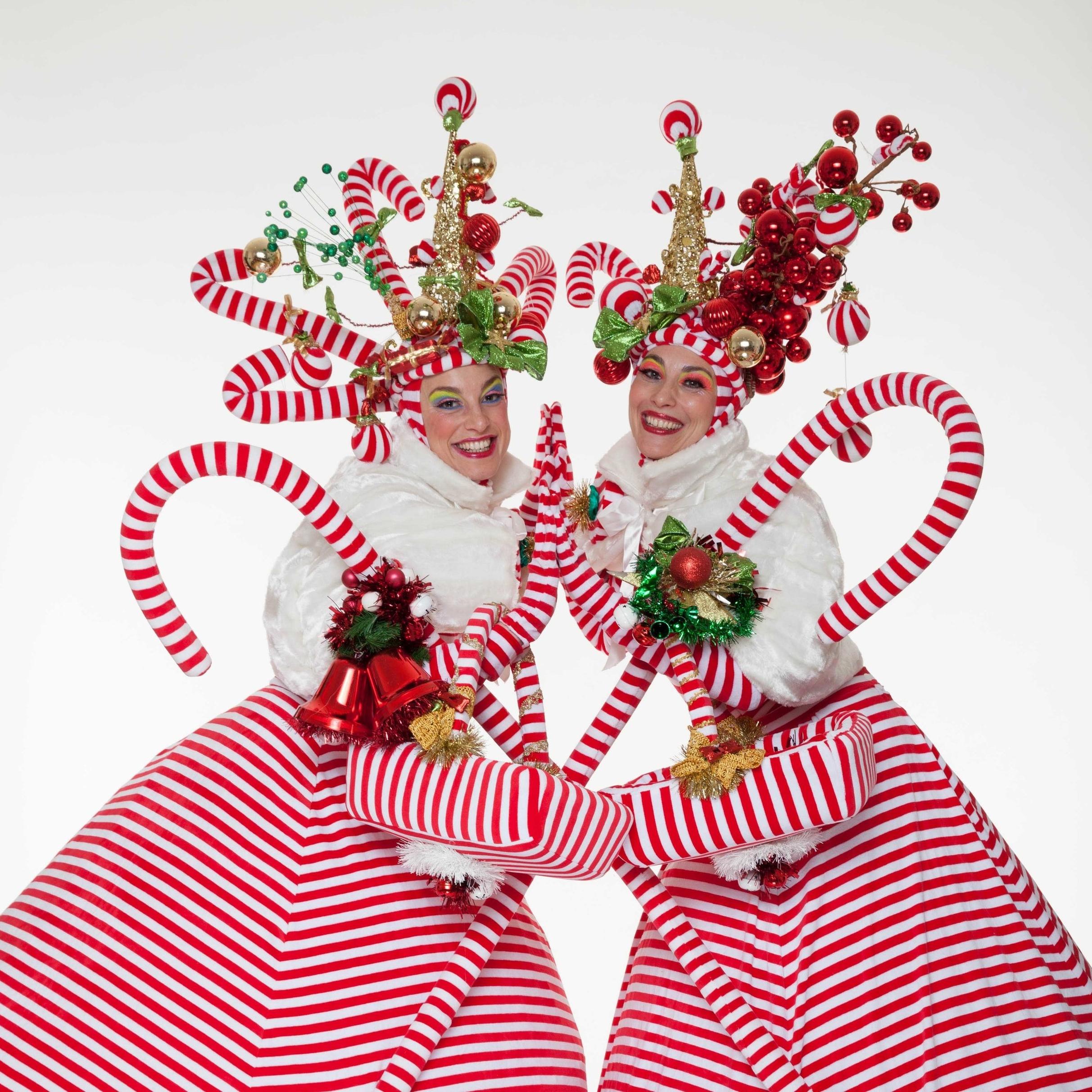 DÉFILÉ DES GRANDS ÉCHASSIERS - DATES : Vendredi 28 décembre entre 17h et 21hSamedi 29 décembre entre 14h et 17h30Dimanche 30 décembre entre 14h et 17h30LIEU :Dans tout le Marché de NoëlLes géantes de Joanna Peacock défileront dans leur costumes farfelus de Noël, un show à ne pas manquer!