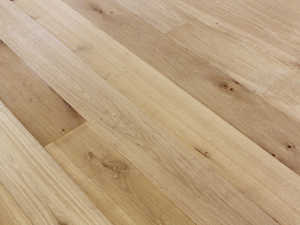 Unfinished Hardwood -