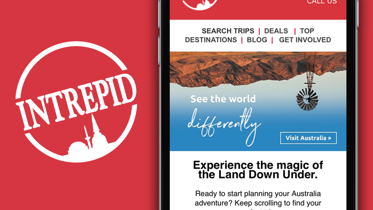 Intrepid Travel  believe that with great travel, comes great responsibility.  We partnered with them to promote their trips to explore the wonders of Australia.