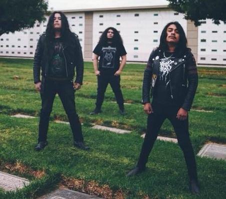 Crematory Stench is E.Cruz (Bass), J. Aguilar (Vocals/Guitar), and M.Valencia (Drums)