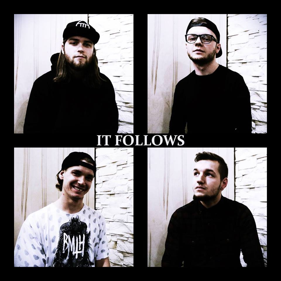 IT Follows is: Klama (vocals, guitars), Felippe (guitars), Lama (drums), and Blondi (bass)