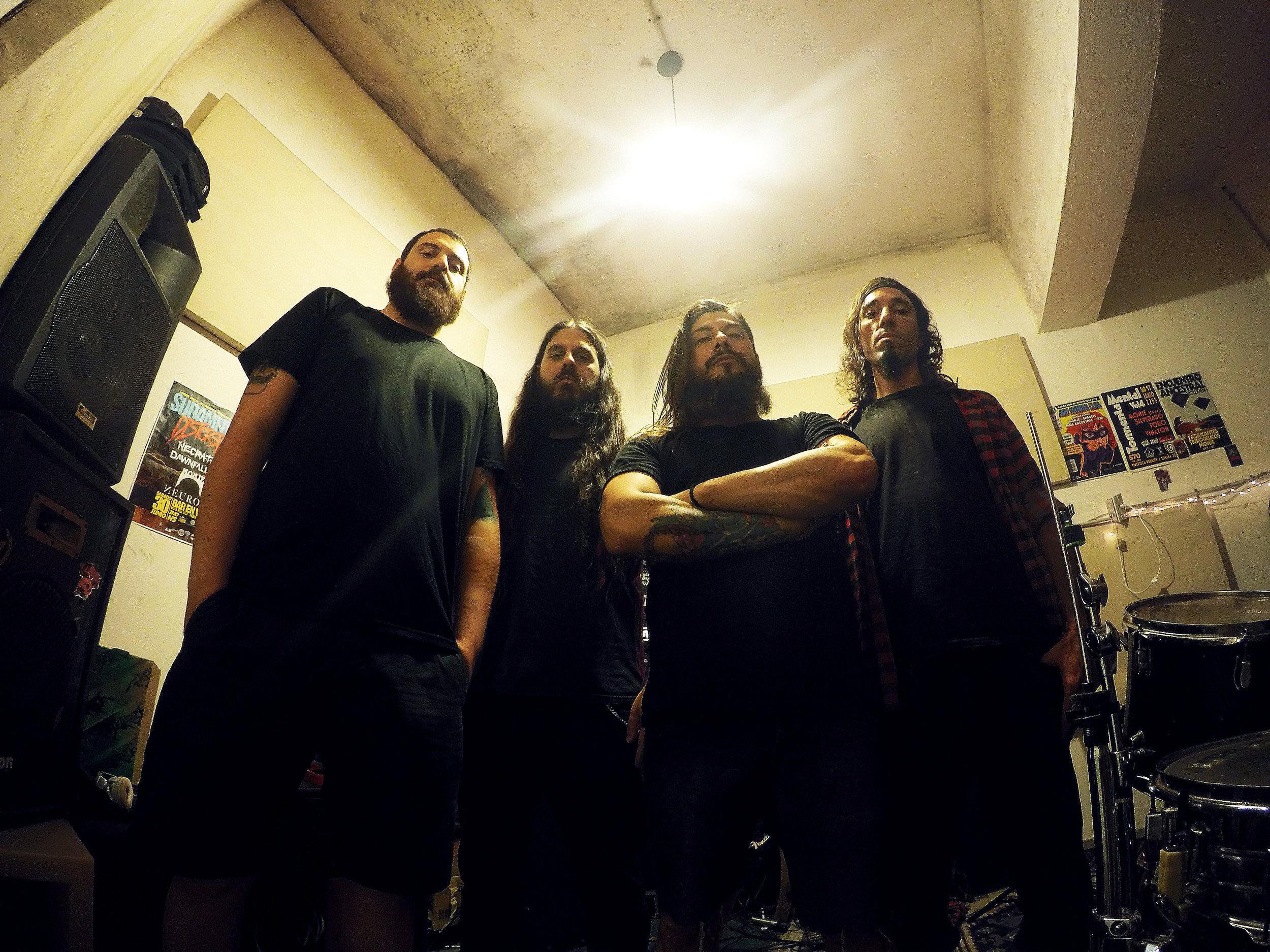 SEBASTIAN ROLÓN (vocals), DANIEL IRANZO (drums), GUIDO SOLDINI (bass), DIEGO PETULLO (guitar)