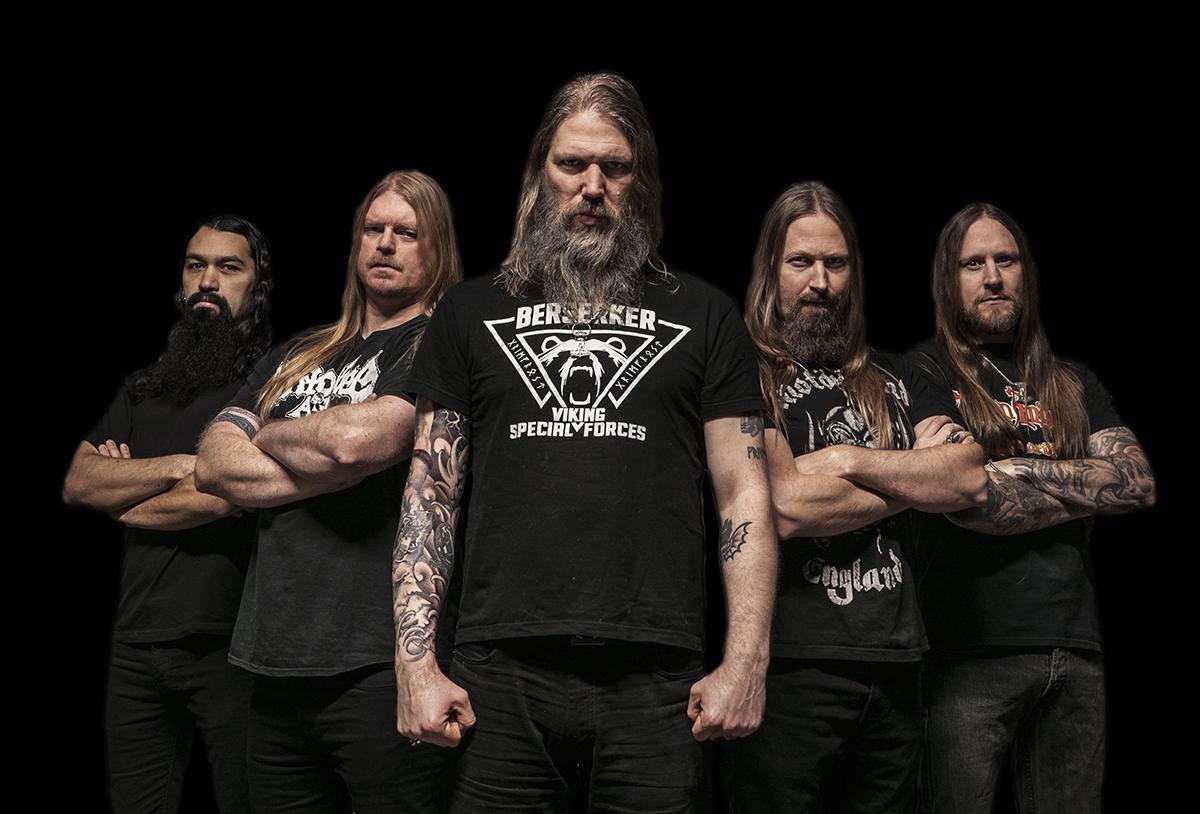 Amon Amarth is: Johan Hegg - Vocals, Ted Lundström - Bass, Johan Söderberg - Guitar, Olavi Mikkonen - Guitar and Jocke Wallgren - Drums