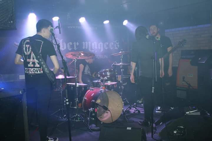 Live in Fibber Magees/ photo by Marty Redmund