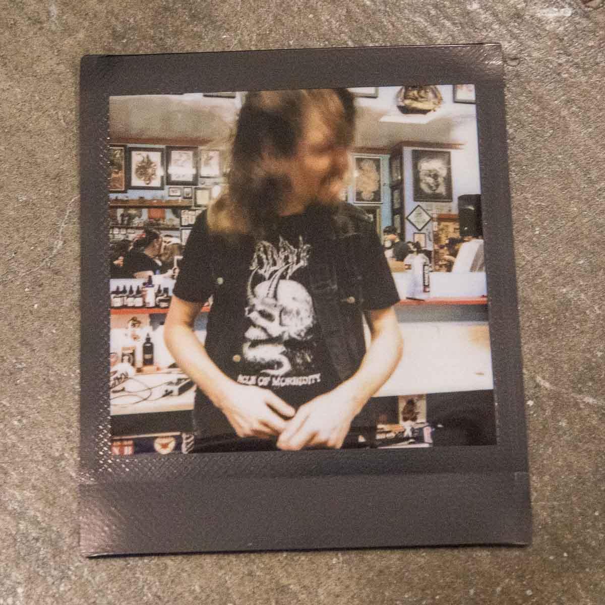 Dirk Verbeuren [Megadeth] headbanging to the new album