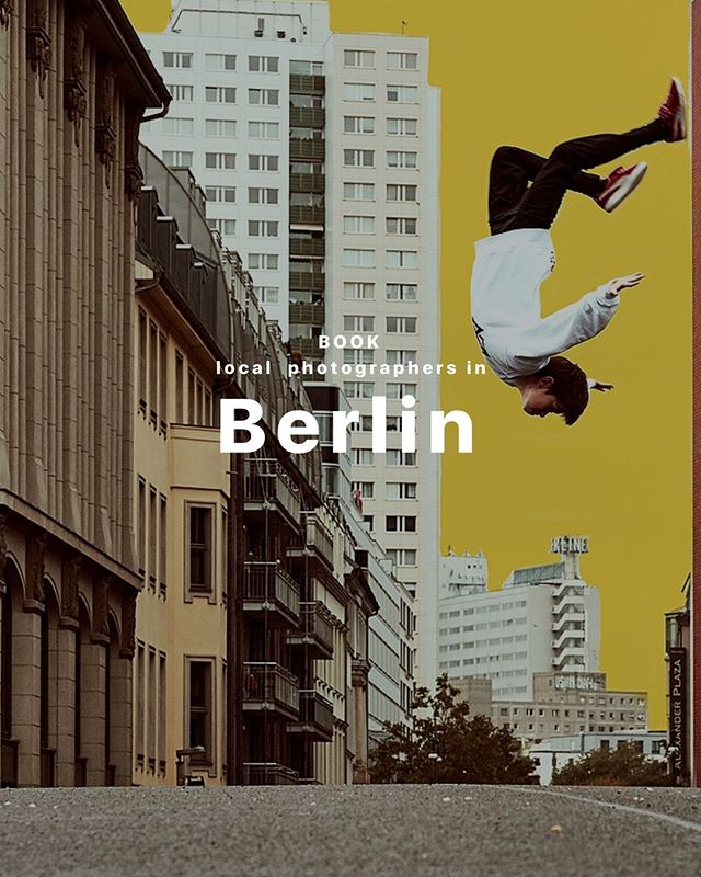 Curious about what art Berlin is? Our photographer Christopher S. will adventure you through the city. His photography style consists of a mixture of fashion, art, architecture, rhythm and movement, as part of a single photoshoot. Booking price is $230 per hour and art Berlin will open to you from its brightest side.