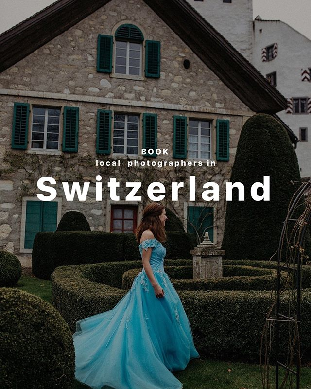 We advise you to start exploring Switzerland with its nature. Just breathe in sweet mountain air filled with oxygen, have a look at beautiful lakes, catch the reflection of the sun in the eyes of your loved ones. Our photographers will take care of the rest. For romantic photoshoots outside, choose our photographers: Delia F., Salome O. and Luisa B.