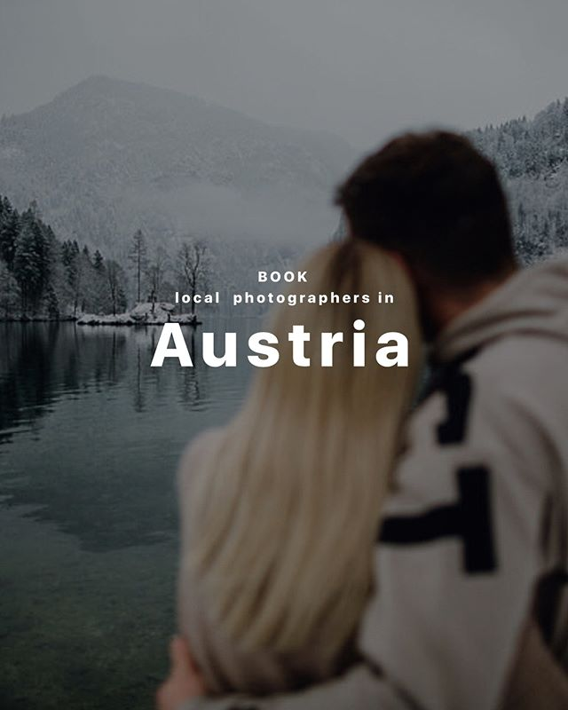 Would you like to be in a film in the form of photos about your stay in Austria? Then you should definitely address our photographers: Thomas and Yelena. They won't miss any detail! Your reflection in the water, the game of shadows, bright emotions on your face, nature and the urban landscape will complement unforgettable photos!