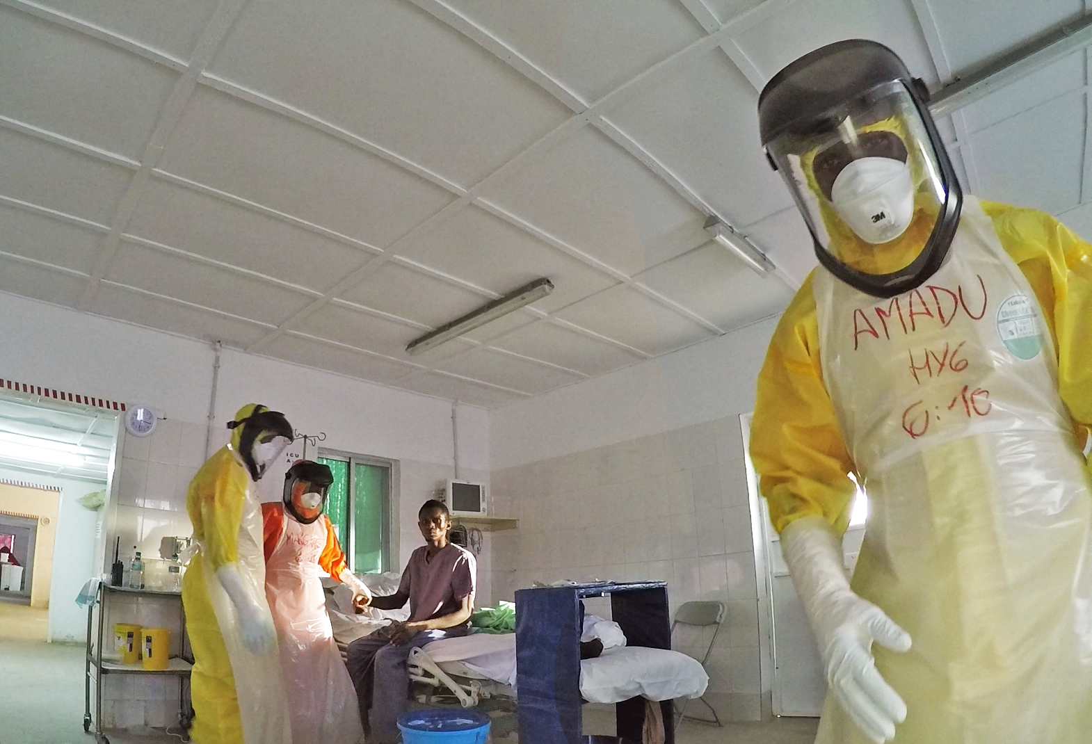 HOPE AND RESILIENCE IN THE TIME OF EBOLA -