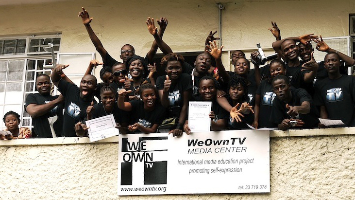 WeOwnTV: Sierra Leone celebrates Opening Day of the Media Center in Freetown.