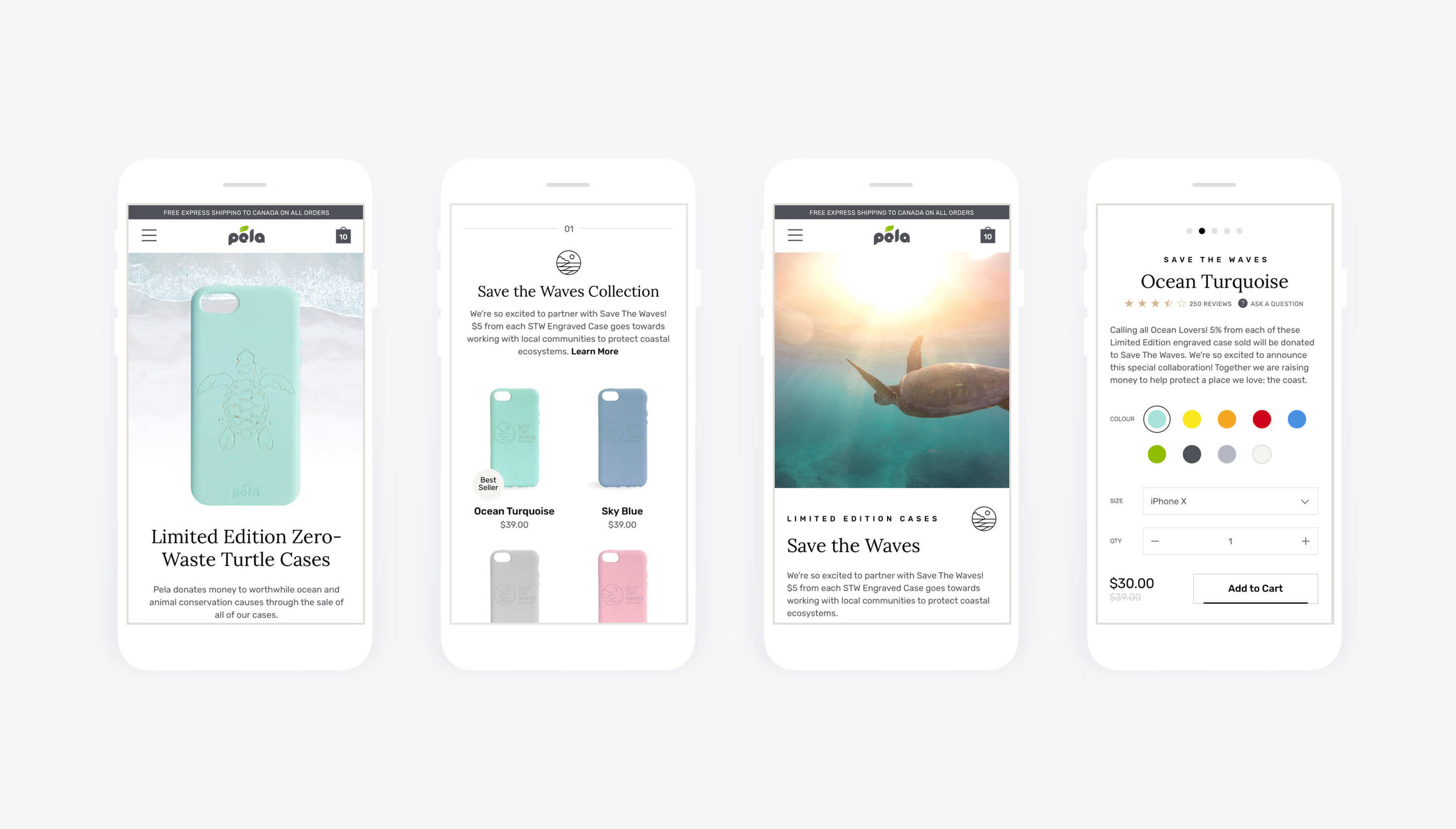 Image: Mobile Homepage designs. Design and asset creation by Julio Wong, Lead UI Designer