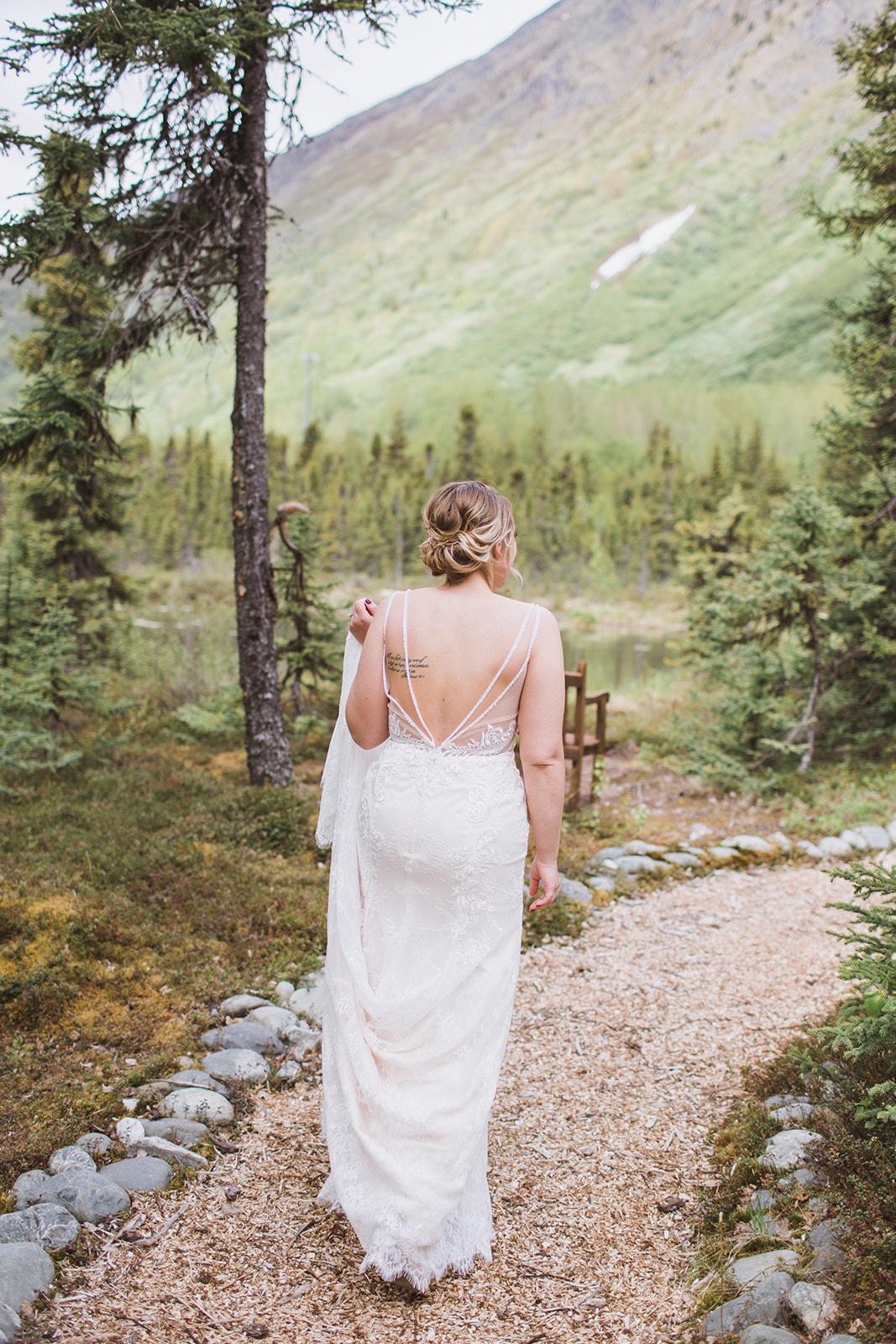 mountain wedding alaska