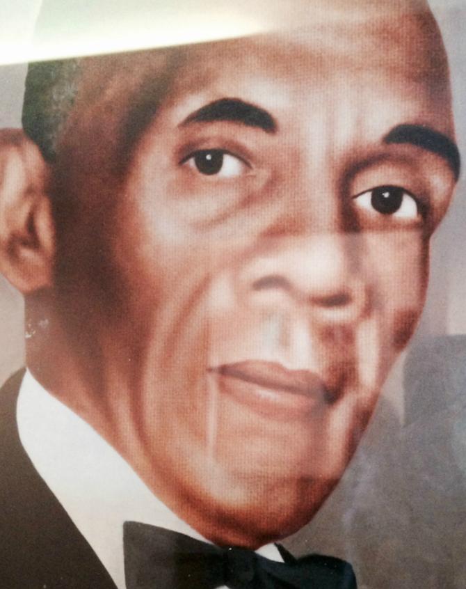 Rev. John B. Pharr - First Pastor