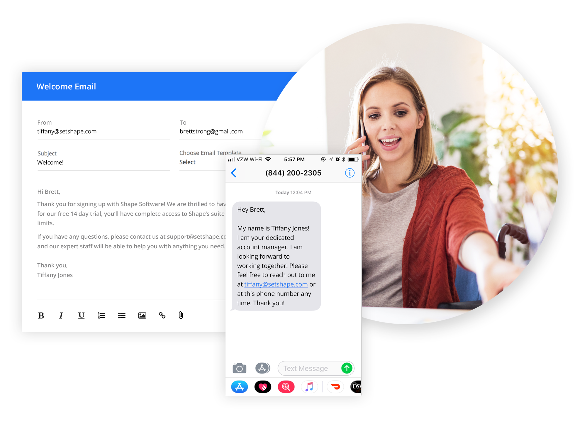 Efficient Scheduling - Reduce missed calls and back and forth emails by sending a link that lets your prospects and customers pick a time that works for all parties.