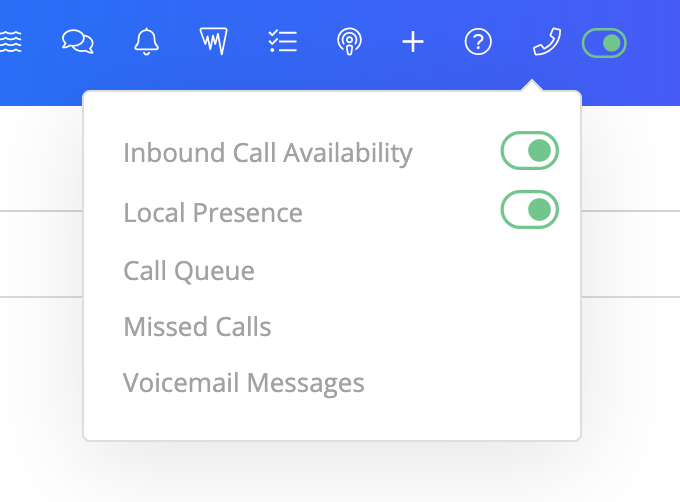 """If local presence is turned ON, then the system will try to match phone numbers in your system with the record's phone number. If and area code isn't an exact match, then it will go off of the """"Local Presence"""" settings page rules."""