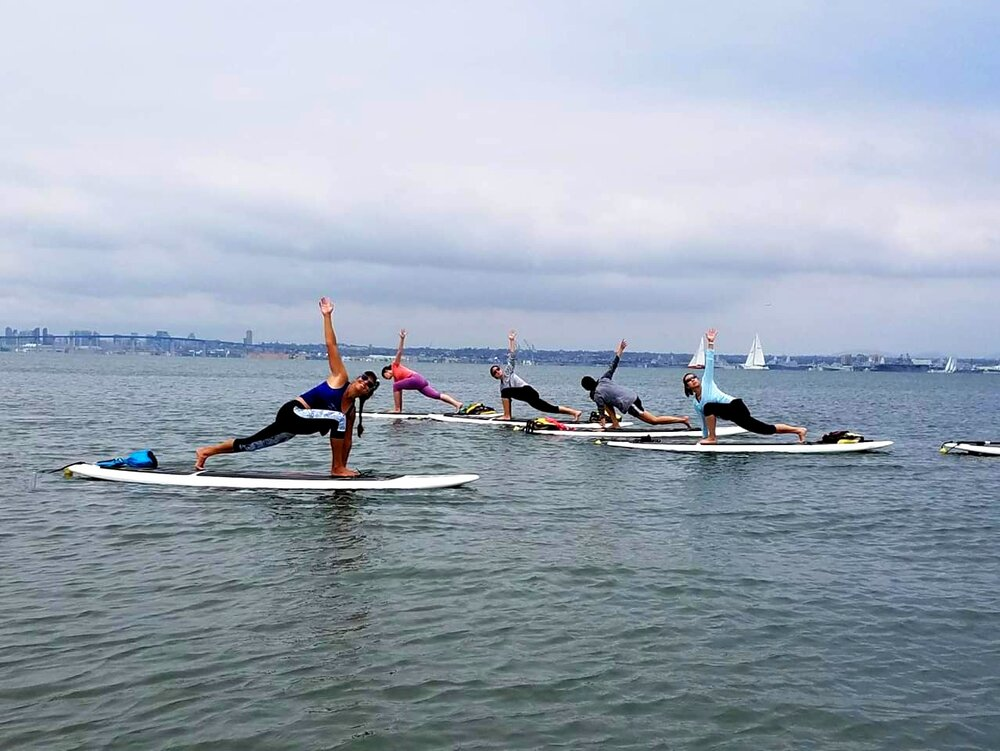 20 Hour SUP Yoga Certification Course
