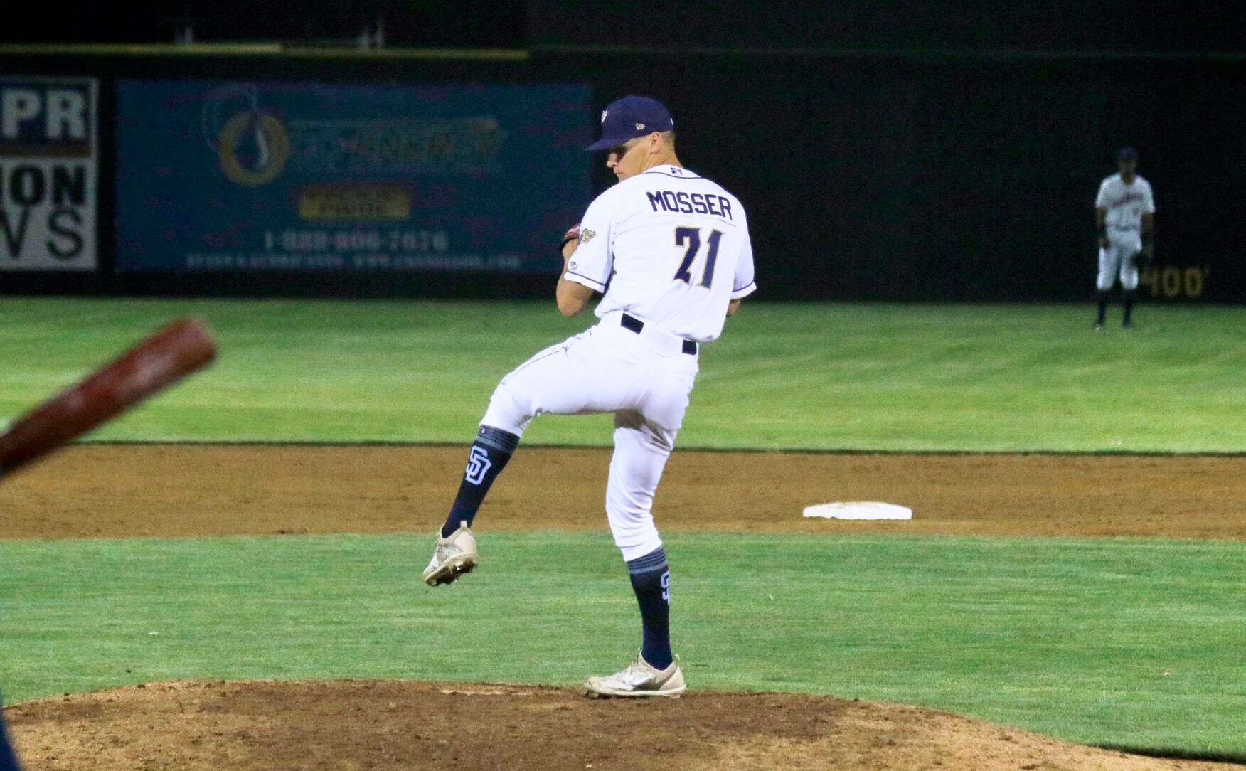 Gabe Mosser pitching for the Tri-City Dust Devils of the Northwest League. Photo Credit: Judy Simpson/Tri-City Dust Devils