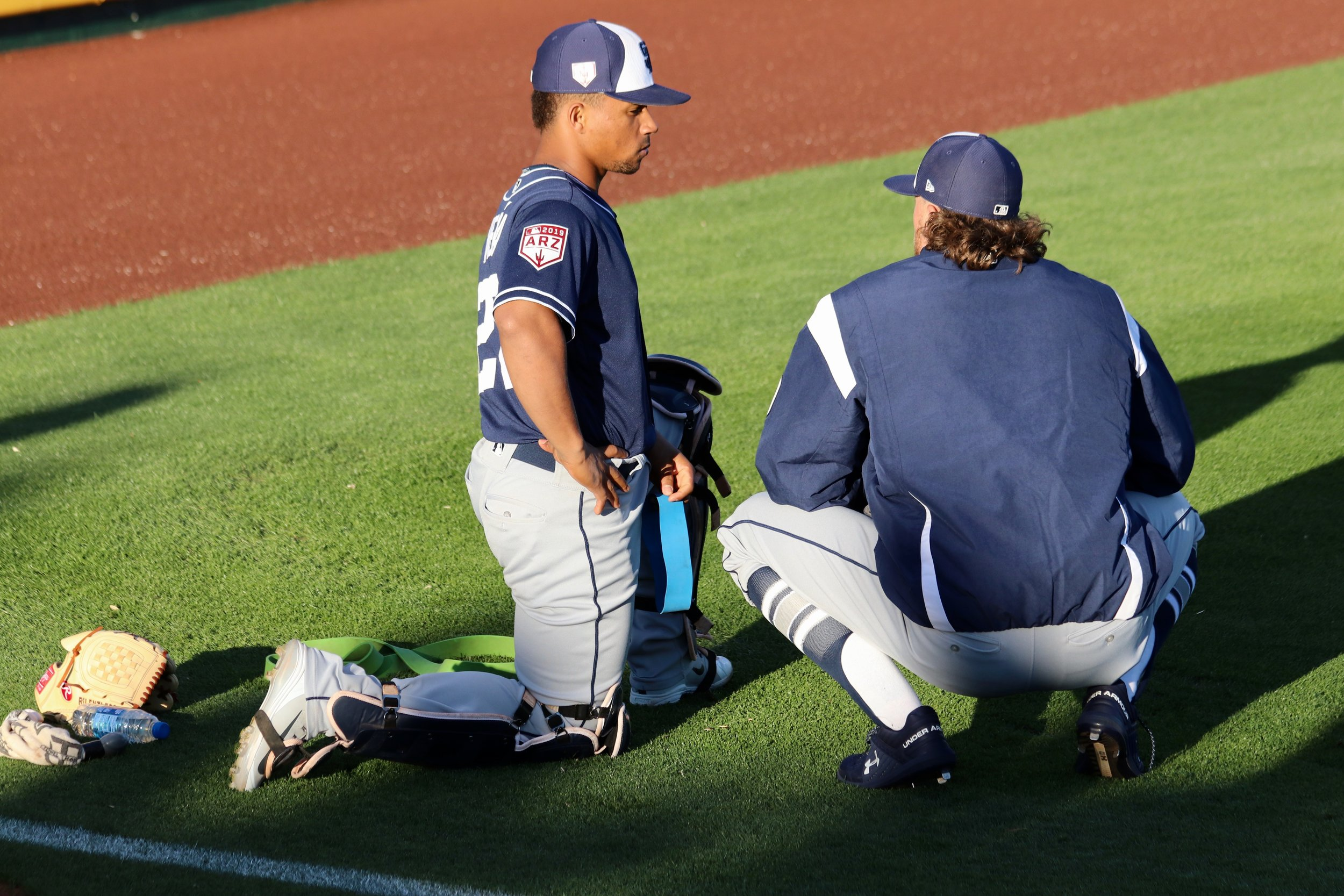 Padres Spring Notebook - Mar. 18, 2019 — Chris Stewart, Andy Green and Chris Paddack weigh in on the rotation. Prospect Luis Patino recounts his strong offseason.