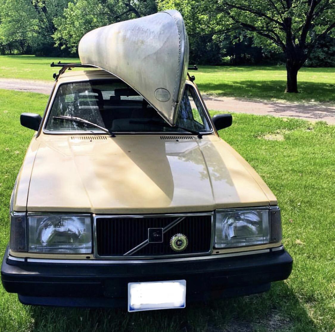 March - '86 Volvo 240 - UNDER RESTORATION