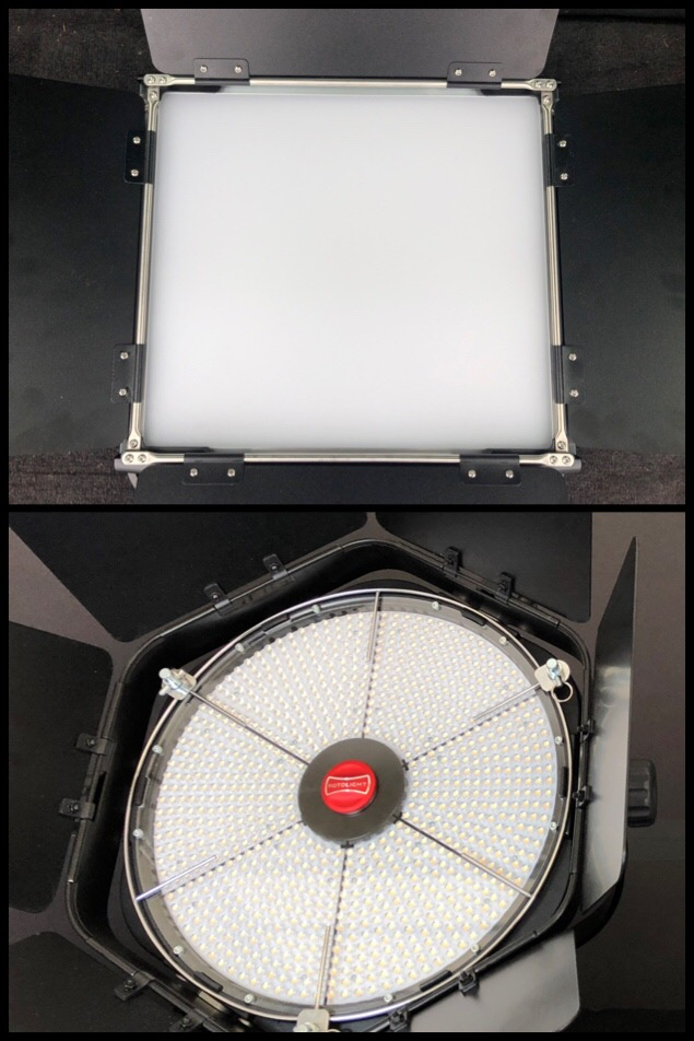Front diffusion panel on the Pro Panel vs. no diffusion on the Anova Pro 2.
