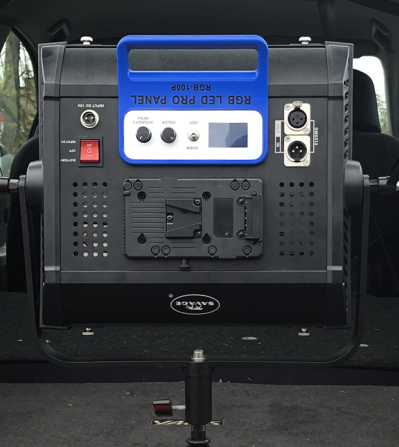 The ergonomics of the Pro Panel functions better when mounted upside down rather than right side up.