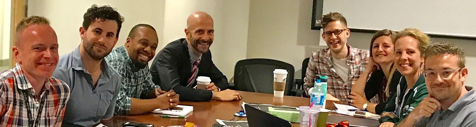 Dr. Demetre: 4th from left.