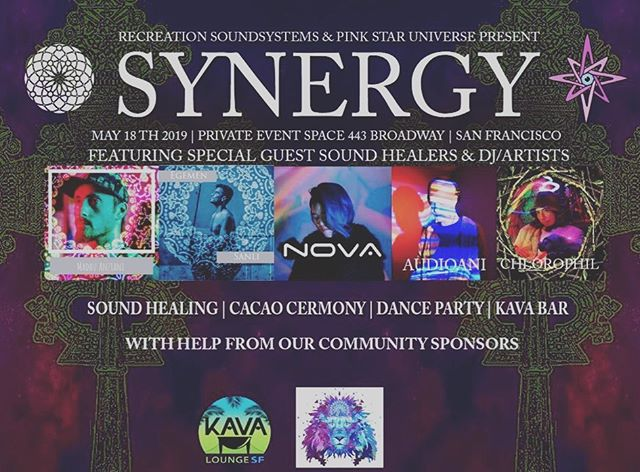 Tomorrow join me for a sound healing journey, cacao, kava and ecstatic dance set with yours truly! Excited for Synergy and co-creating with some amazing artists! Doors at 6pm and starts at 7pm! Tickets available at my website events. ⚡️ ⚡️ #soundhealing #cacao #kava #synergy #sfevents #healing #ecstaticdance #housemusic #electronicmusic #livemusic #consciousevents