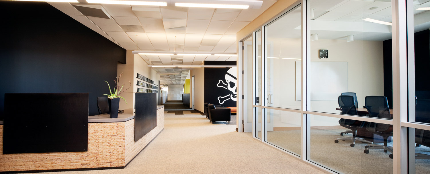 Vitro Ad Agency office interior, san diego commercial photographer, architecture photography, commercial space