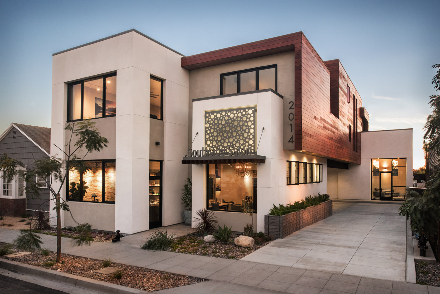 BV Architecture project Atlas Lofts in San Diego, San Diego architecture photography, mixed-use architecture, luxury apartments, modern architecture